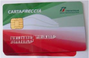 電車に乗ってポイントゲット – Cartafreccia