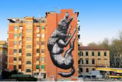ストリートアート – Roma presenta la sua prima mappa di street art